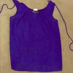 Large Torrid blue tank top ( not a plus size )